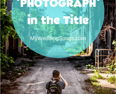 photograph songs in the title
