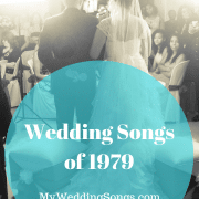 1979 Wedding Songs I Was Made For Lovin' You