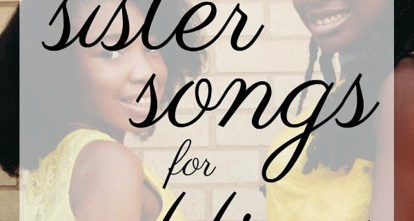 sister song for weddings list