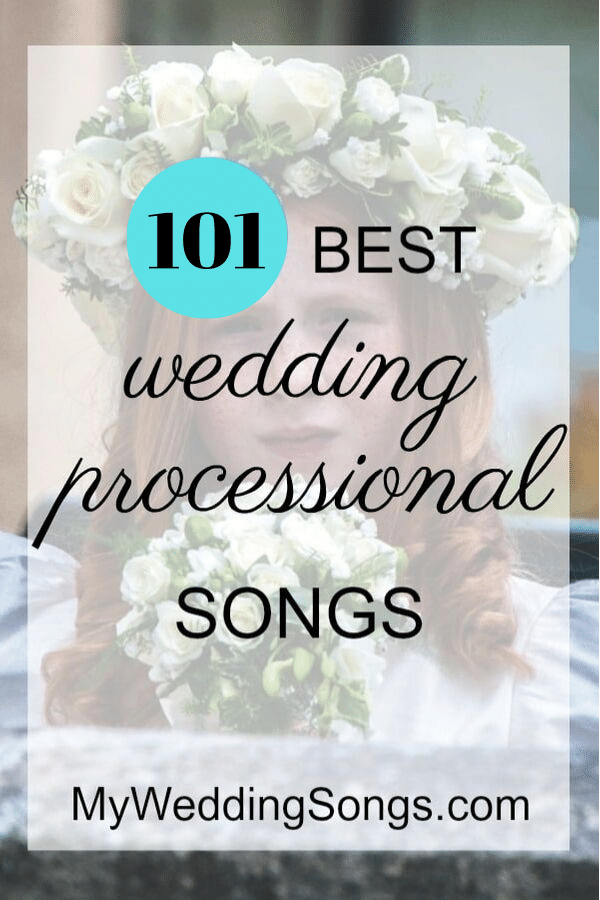 processional songs list wedding