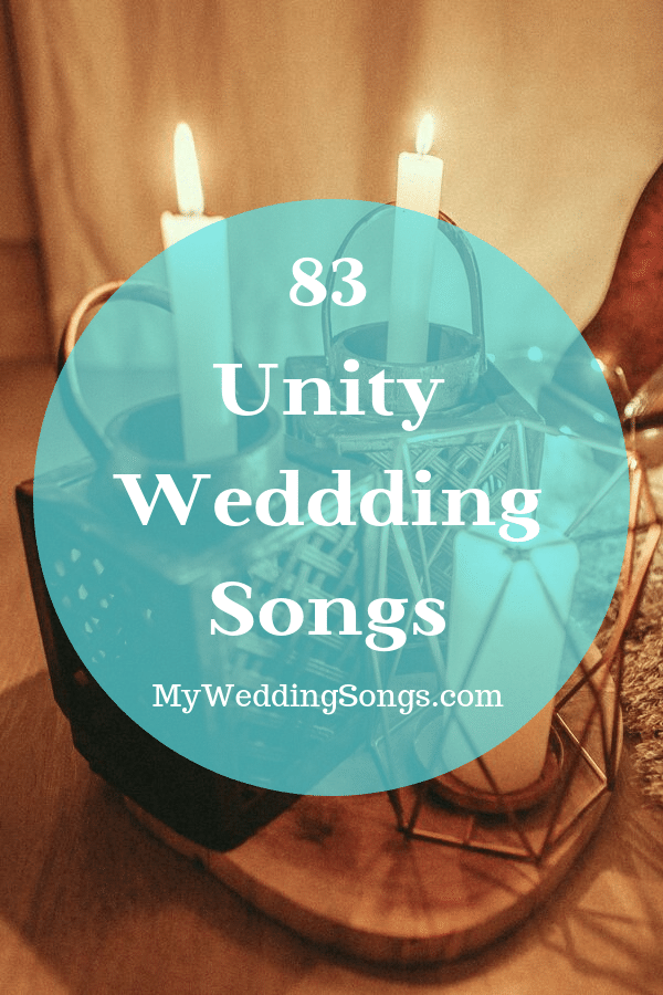 unity wedding songs candle-sand