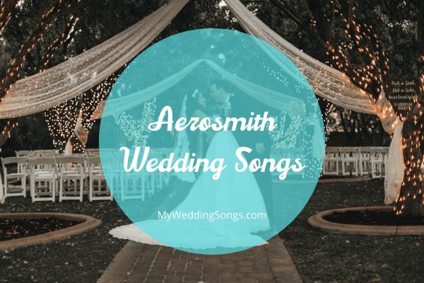 aerosmith wedding songs