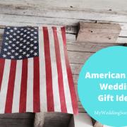 American made wedding gift ideas