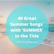 summer songs in the title