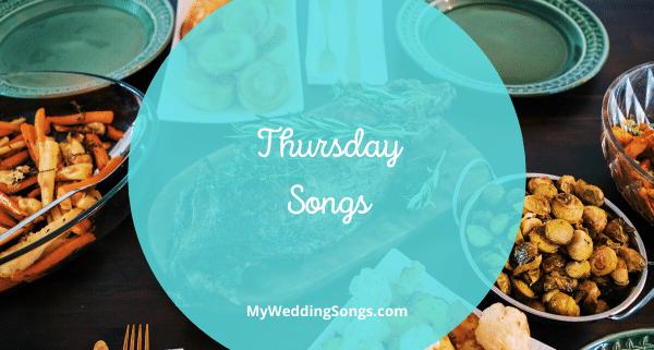 Thursday songs