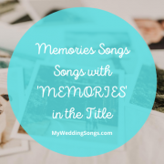 memories songs