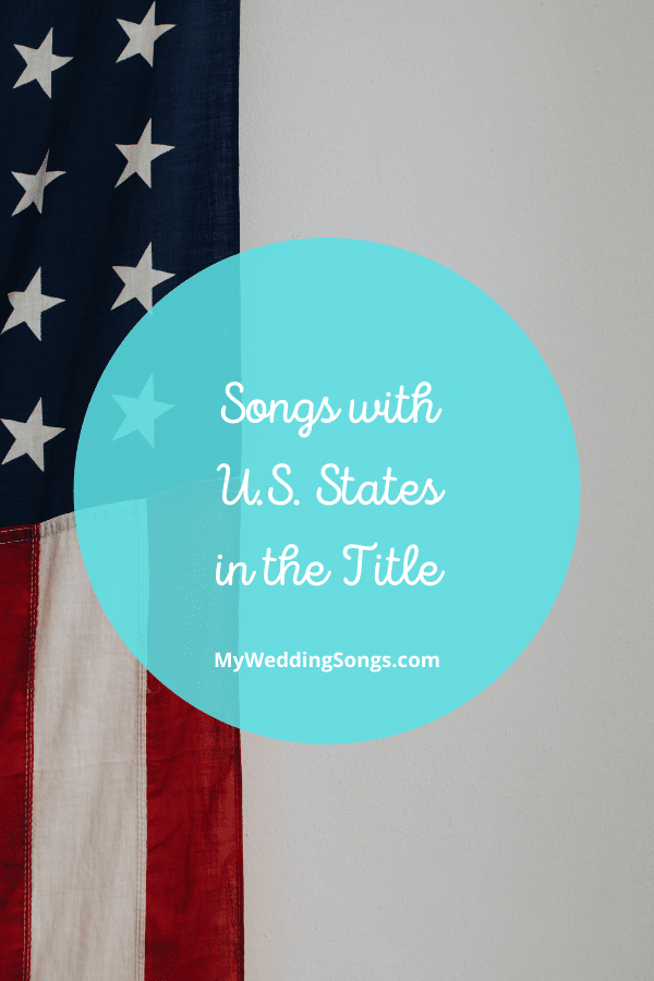 Songs with US States in the title