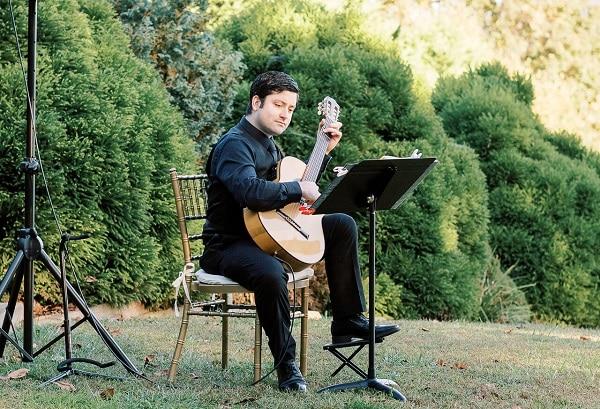 wedding ceremony classical guitarist